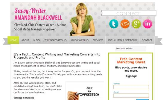 Grand Blogger Savvy Writer