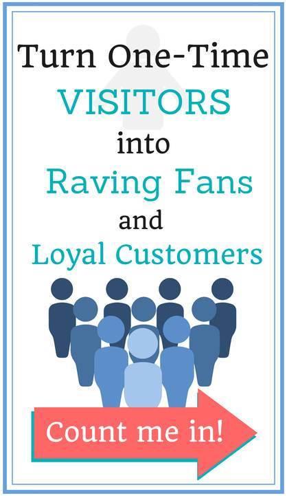 Turn one time visitors into raving fans at BlogBoldly.com