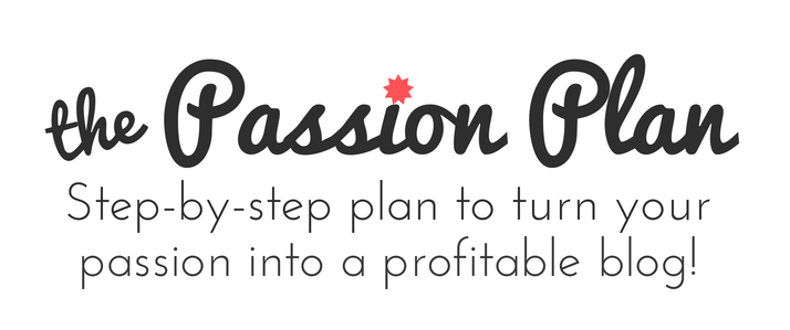 the Passion Plan @BlogBoldly